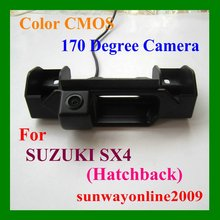 CAR REAR VIEW REVERSE BACK PARKING CMOS/WITH REFERENCE LINE/WATERPROOF/NIGHT VISION CAMERA FOR SUZUKI SX4 SX-4 Hatchback