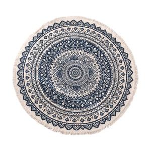 Image 4 - 曼荼羅ラウンド床敷物リビングルームの寝室のカーペットドアマット飾る家エリア綿ハンドメイド自由奔放に生きる敷物