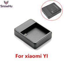 Купить с кэшбэком SnowHu for Xiaomi Yi Battery Charger USB Dual Port Battery Charger for Xiaomi Yi action camera accessories  GP231