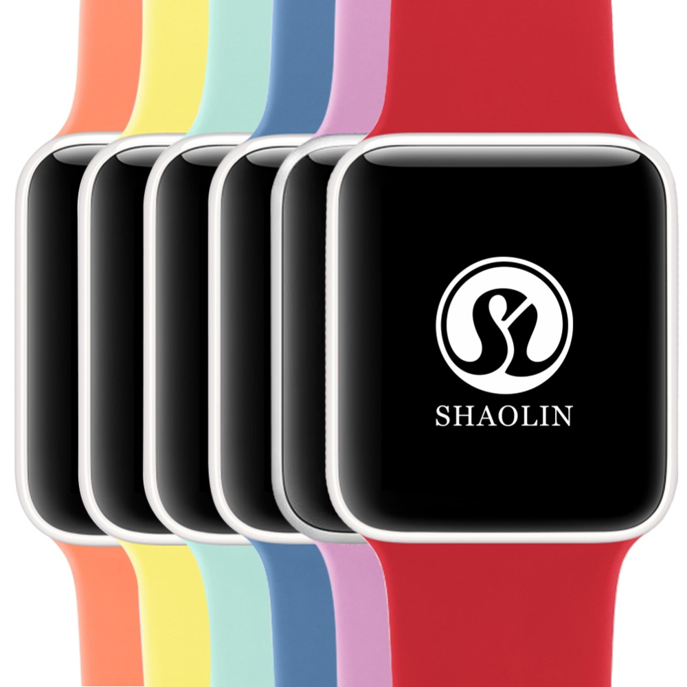 para a Apple Faixa de Relógio Nylon para eu Série 38mm 42mm Macio Respirável Assistir Substituição Esporte Banda Loop Series4 40mm 44mm 3 – 2 1