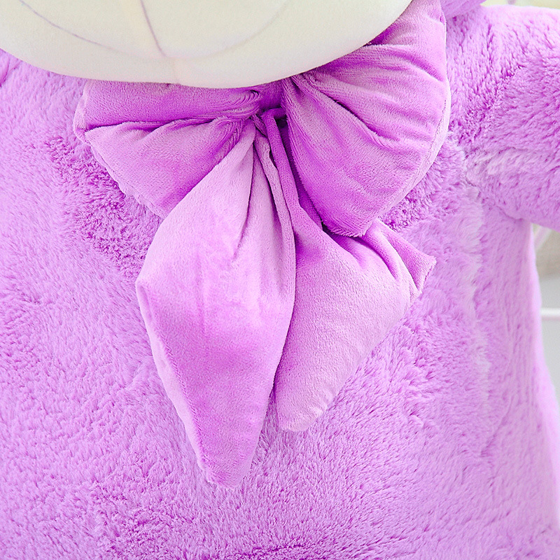 High Quality 140CM big giant purple teddy bear animals plush stuffed toys children kid dolls girls Christmas vanlentine gift - 6