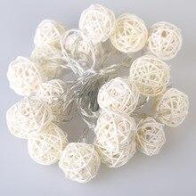 2M 20 LED Lights Garlands for Party Decoration AC110V-125V