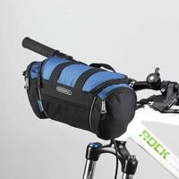 ROSWHEEL Bicycle Front Tube Bag Bike Handlebar Bag Pack Bike Baskets Cycle Cycling Front Frame Pannier