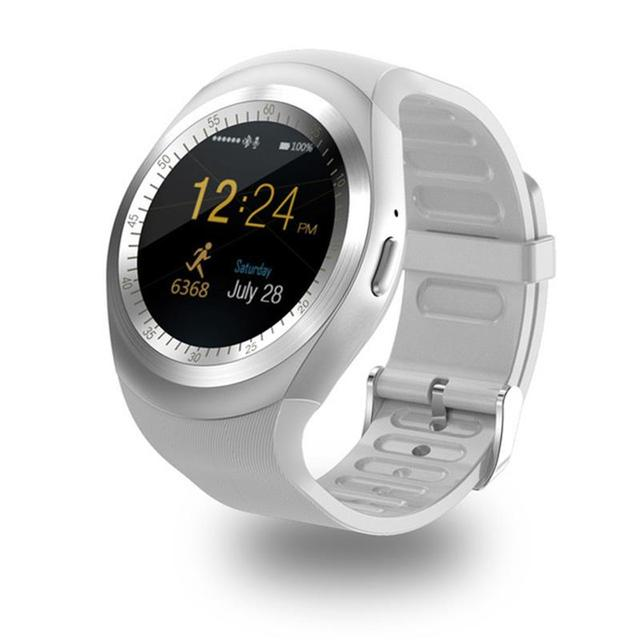 696 Bluetooth Y1 Smart Watch Relogio Android Smartwatch Phone Call SIM TF Camera 3