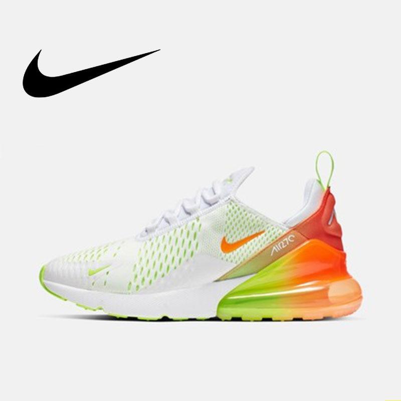 Nike Original AIR MAX 270 Original Men's Running Shoes Sports Outdoor Sneakers 2019 New Training Athletic Designer #CN7077