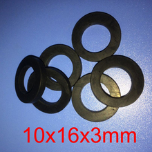 10X16x3mm NBR rubber flat gasket o ring seal