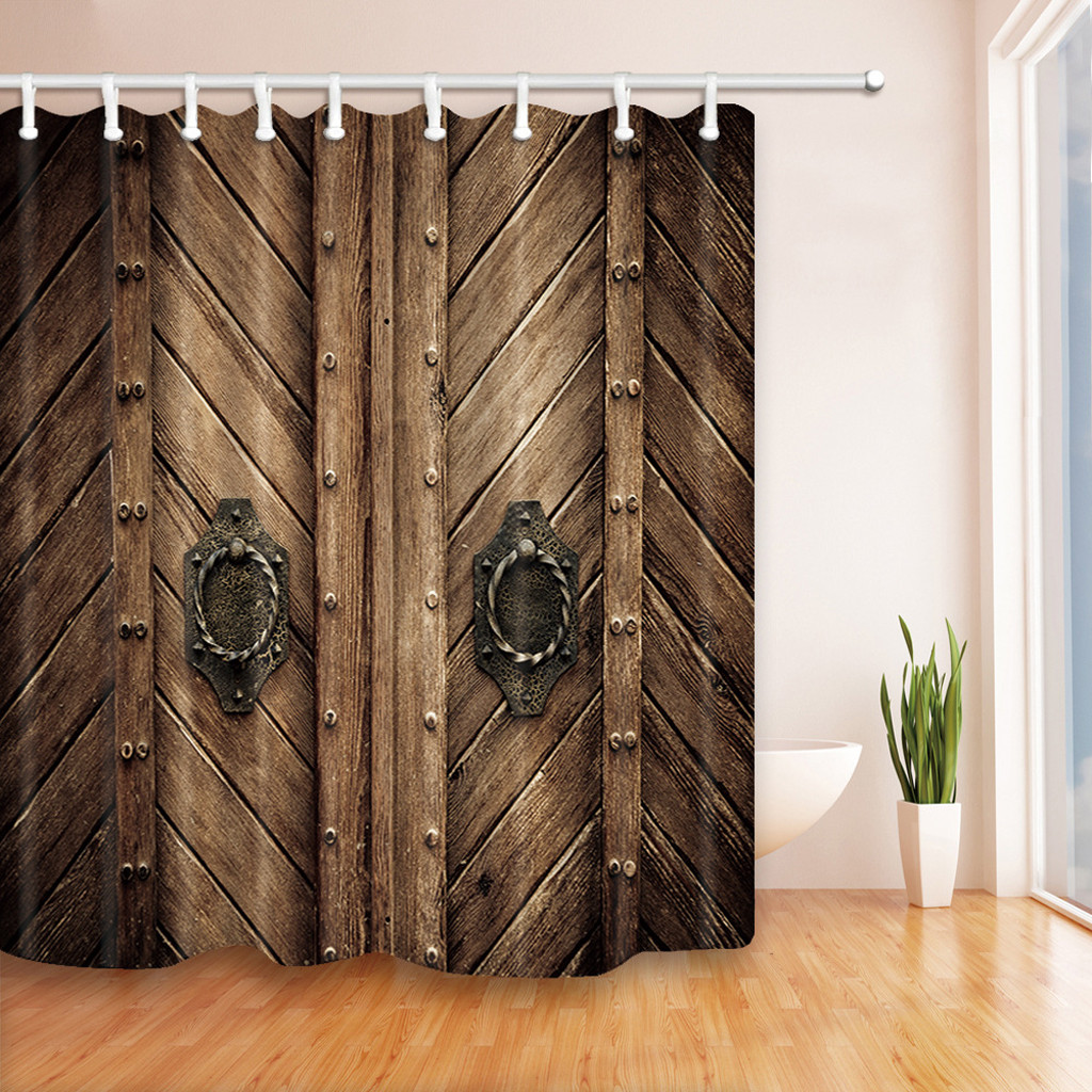 Lowest Price Drop Shipping Polyester Shower Curtain Fabric