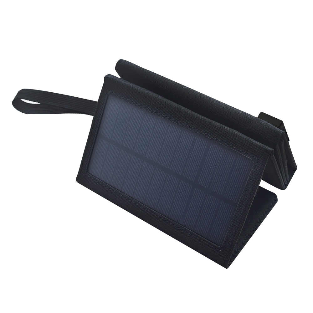 BOGUANG 5.5V 10W Foldable Solar Charger system solar panel battery charging cell with USB for outdoor camp Mountaineer phone