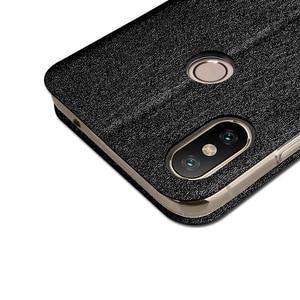 Image 5 - For Xiaomi mi max 3 case soft silicone for xiaomi max 3 case cover flip leather Mofi original for xiaomi mi max3 case TPU funda