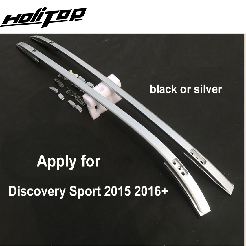 Новое поступление для LR Discovery sport 2015-2019 OE Стиль рейка на крышу/багажник на крышу, серебристый или черный, два варианта, бесплатная доставка в А...