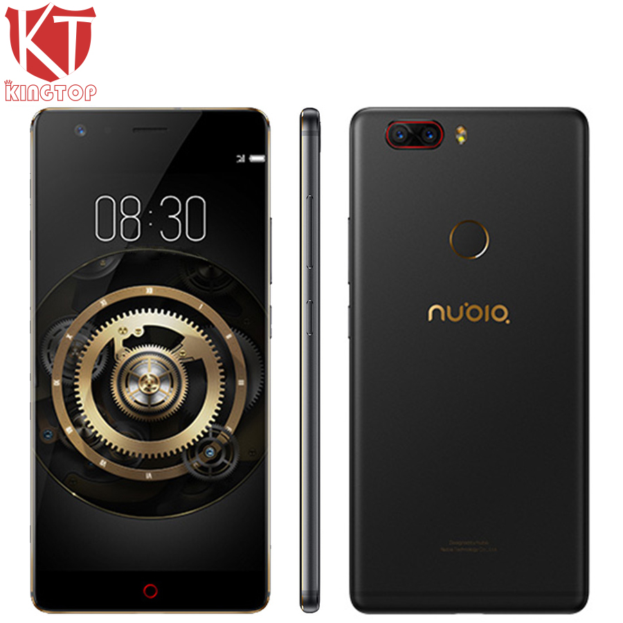 "Original ZTE Nubia Z17 Mobile Phone Snapdragon 835 Octa Core 6GB RAM 128GB ROM 5.5"" 23MP+13MP Android 7.1 Waterproof Cell Phone"