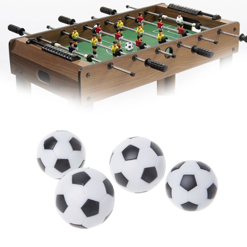 2pcs Resin Foosball Table Soccer Ball Indoor Games Fussball Football 32mm 36mm image
