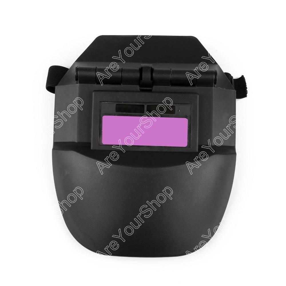 AUTO Darkening Welding Helmet ADWH Tig Mig Welder Mask Lenses Solar Powered 1Pcs Good Quality Welding Soldering Supplies  цены