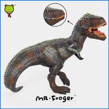 Mr.Froger Giganotosaurus model toy Jurassic Dinosaur Children Animal Model Toys Science Education Solid plastic PVC Collection