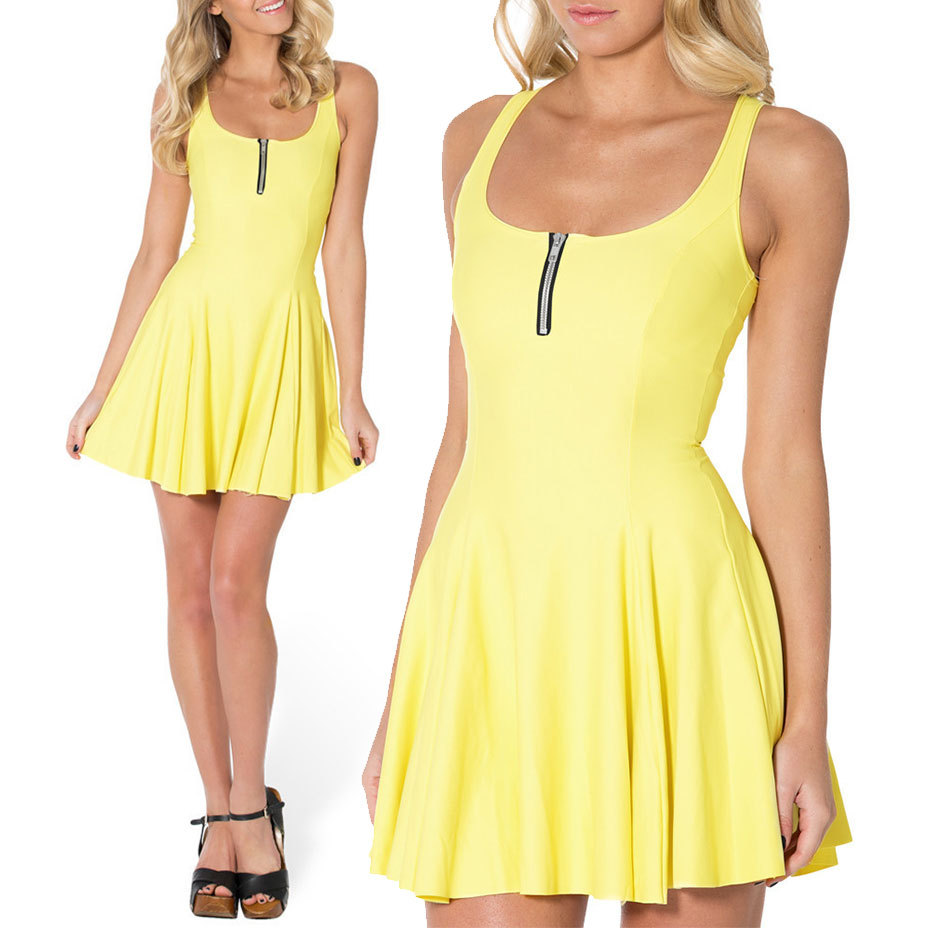 new 2014 black milk sexy women summer dress skater dress