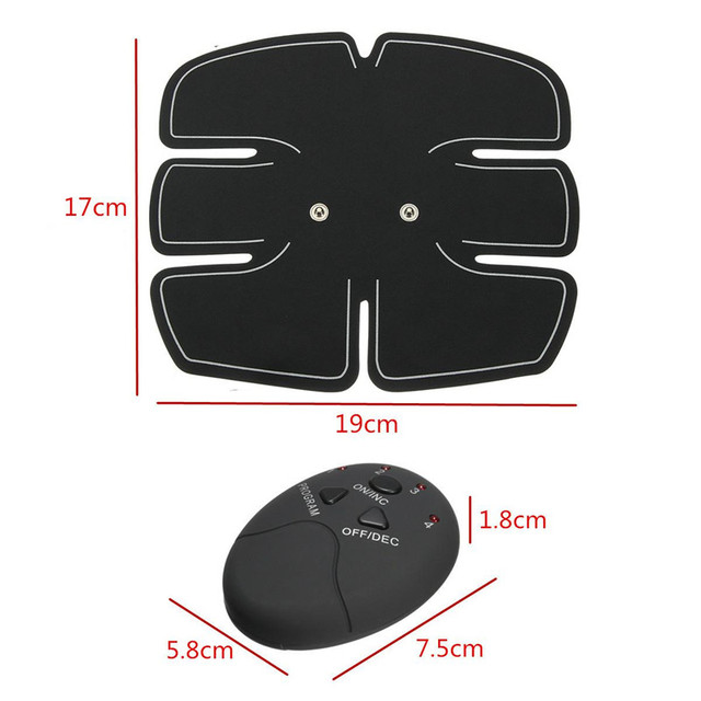 EMS Muscle Stimulation Trainer Wireless Electric Smart Fitness Abdominal Training Weight Loss Stickers No Retail Box 2