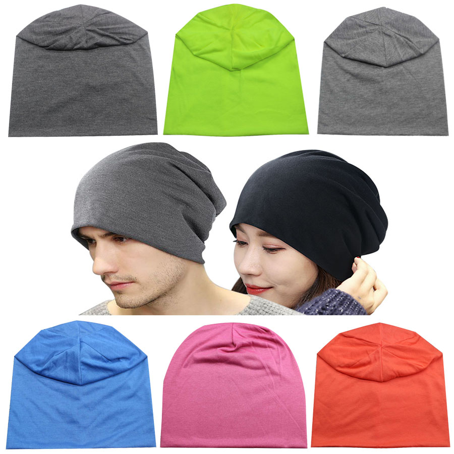 Slouchy Hat Spring Autumn   Skullies   Fashion Hats Classic Casual Hats 100% Cotton Female Hat Women Men Sleeve   Beanie   Cap