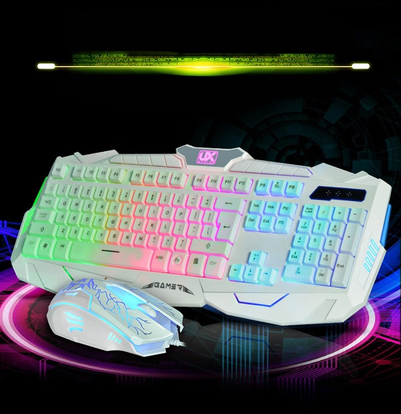 Blue-Ocean-11 USB laptop Wired Mouse 7D Optical 4000DPI Gaming Mouse Game Mice For Computer PC Laptop for Dota2 X7 CF LOL mause