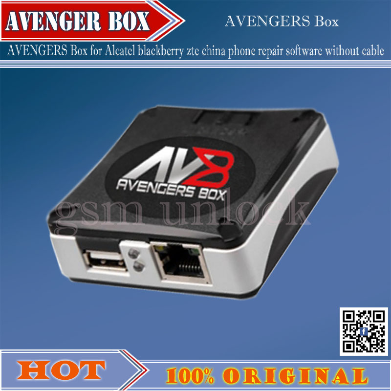US $95 8 |gsmjustoncct 100% Original Latest AVENGERS Box / AVB BOX for  Alcatel blackberry zte china phone repair software without cable -in  Telecom