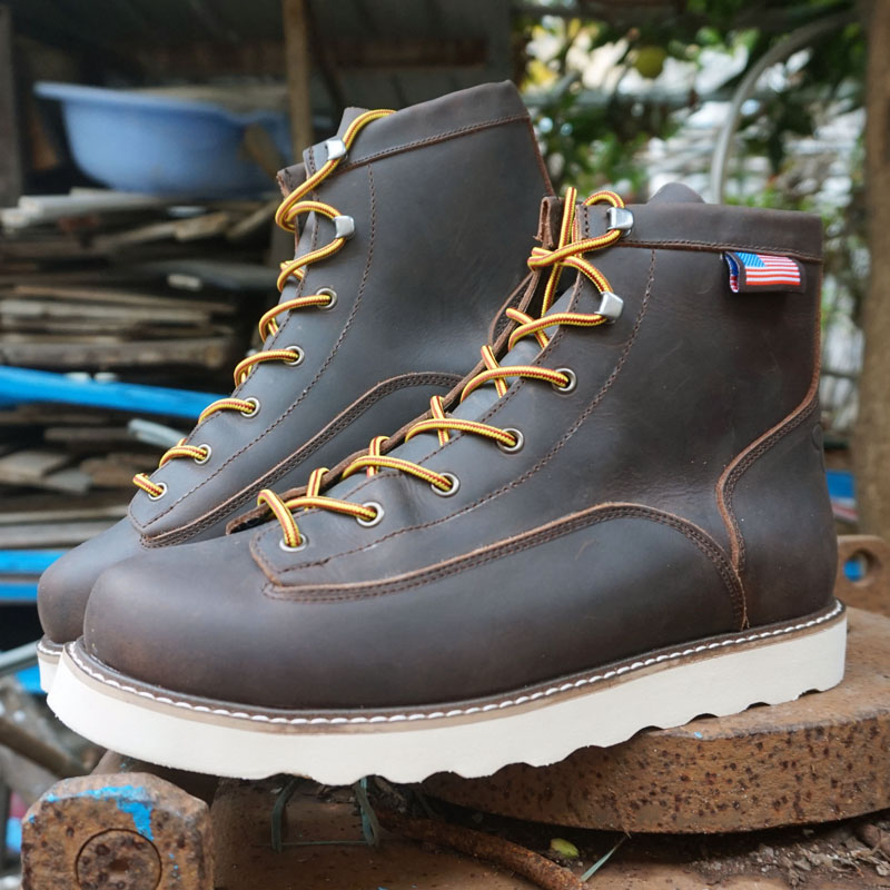 Caddis Big Size 35-49 Mens Boots Wear-resisting Non-slip Army Boots Men Waterproof Outdoor Climbing Hiking Boots Men Mountain