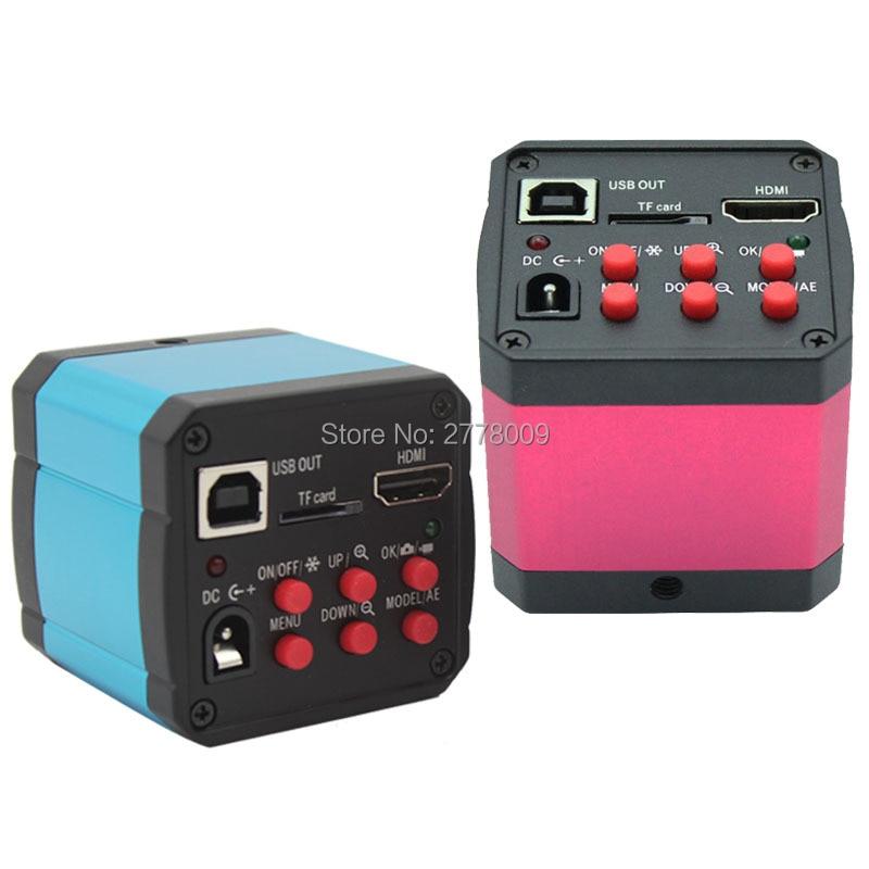14MP HDMI USB Digital Industry Video Microscope Camera lens TF Card Video Recorder Computer Phone Motherboard Repair Testing  цены