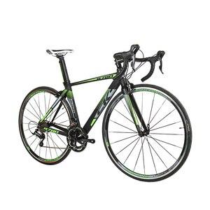 Richbit جديد سباق الطريق دراجة 18 سرعات 9 سرعات كاسيت فائقة خفيفة الوزن ألياف الكربون شوكة shimano 3500 700c * 46/48 سنتيمتر إطار