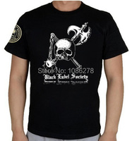 Design 2014 Mens Custom T Shirts Black Label Society Rock Band Music Printed T Shirts Cotton