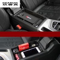 Car Styling New Design Central Storage Box Armrest Remoulded Car Glove Storage Box For Audi A4