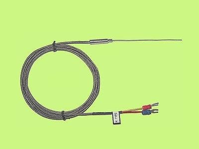 Оптовая продажа с фабрики K Тип термопары минеральные изолированные датчики (1 мм) thermocouple type type thermocouplek type   АлиЭкспресс