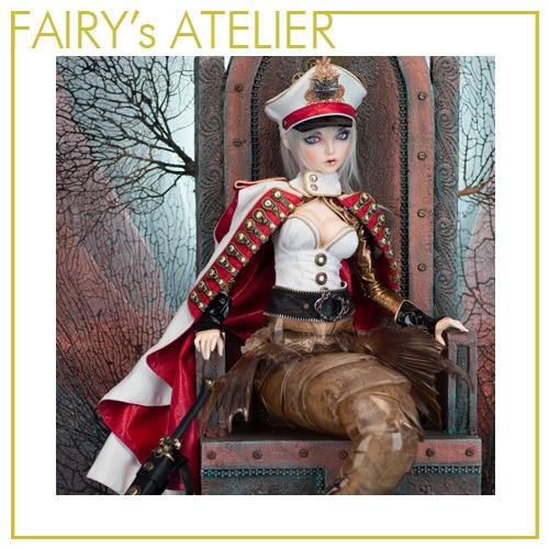 OUENEIFS Scarlett hippocampe Fairyland FairyLine60 bjd sd poupée 1/3 modèle filles garçons jouets boutique silicone résine meubles-in Poupées from Jeux et loisirs    3