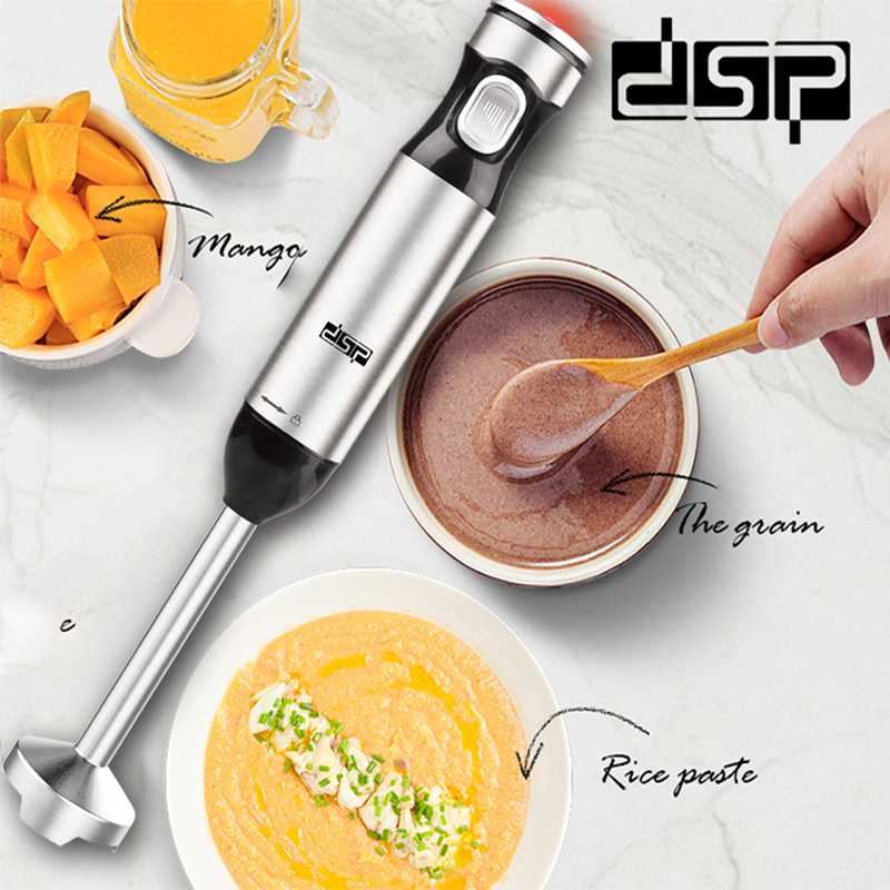 DSP KM1052 Food Mixer 1000W Electric Hand Held Blender Protable Stainless steel mixing blade Mixer Family