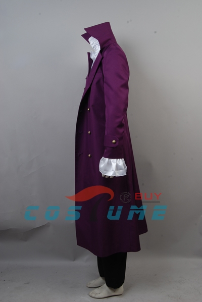 Prince Purple Rain Cosplay Costume Whole Set Halloween Set 4