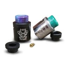100% original Hellvape Conejo Muerto BF Tanque RDA Compatible Con Simple/Doble Bobina caja Mod Vape Para cigarrillo elctronic squonk