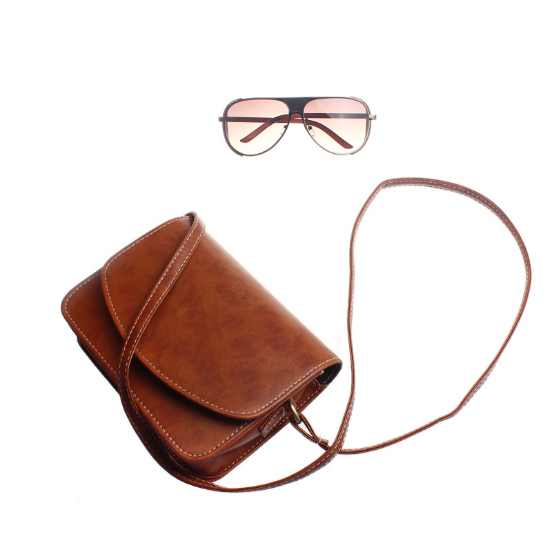 Crossbody Bags for Women leather messenger bag Package Small Sweet Wind One Shoulder Han Edition Fashion Female Bags 2017 New