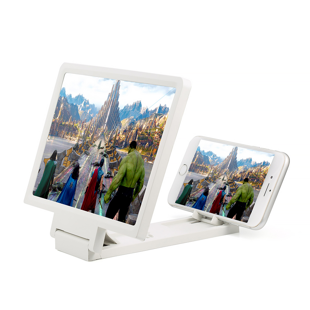 Screen Magnif 3D Movie Amplifier 3X Zoom Enlarged Phone Screen 3D Video Amplifier Radiation Eye Treasure For Phone Holder