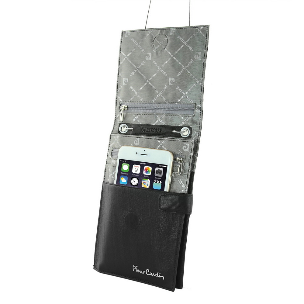 pierre cardin male shoulder bag man bag cowhide genuine leather bag strap for sumsung galaxy S7 edge S8 S9 plus mobile phone bag