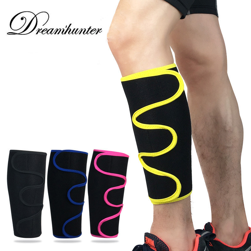 Adjustable Shin Guards Leg Sleeves Basketball Cycling Running Leg Warmers Calf Support Protector Pads Football Fitness Gym Cover