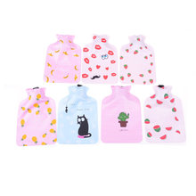 Cartoon Rubber Hand Hot Water Bag/Safe Reliable Plush USB Foot Warmer Shoes Soft Electric Heating Slipper Catlike cat Claw Gifts(China)