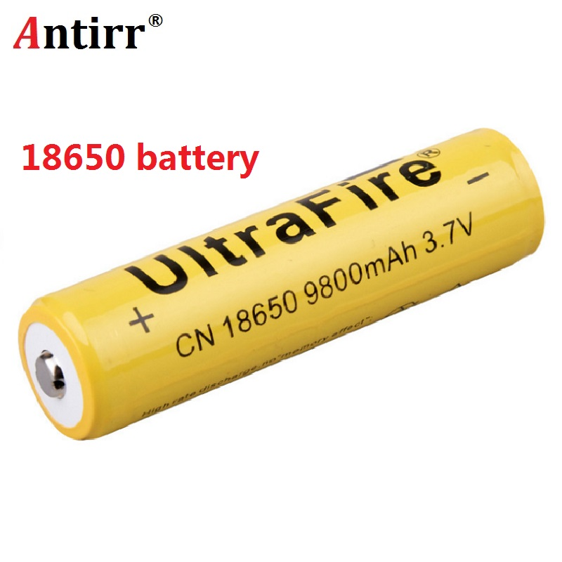 4pcs/lot 18650 battery 3.7V 9800mAh Li-ion Rechargeable Battery For LED Flashlight Torch For emergency lighting portable device