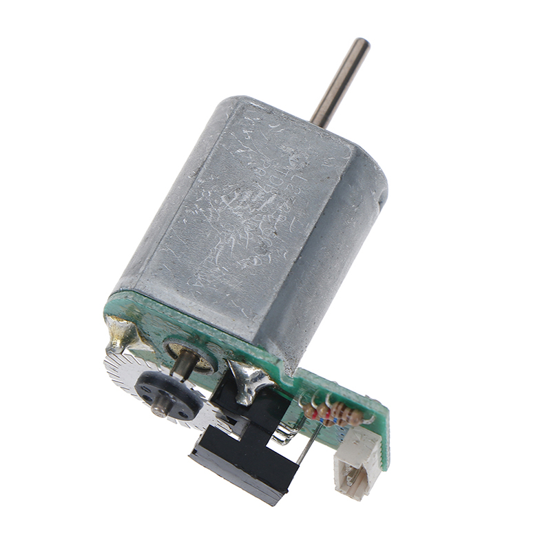 DC 6V-12V 40mA Motor 7800RPM Mini Motor With Metal Speed Encoder Tachometer Motor AB Phase Long Service Life