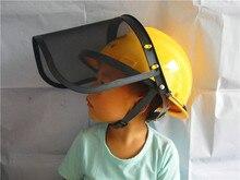 Acero mesh visor protección segadora piezas redes Flavera máscara trimmer head protectores