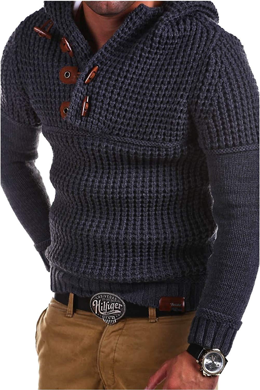 aa9e591a02b7 2018 Mens Wool Sweater Pullover Long Sleeve Half-Zipper Sweater Jumper  Knitwear Winter Cashmere Outerwears Male M-XXXL
