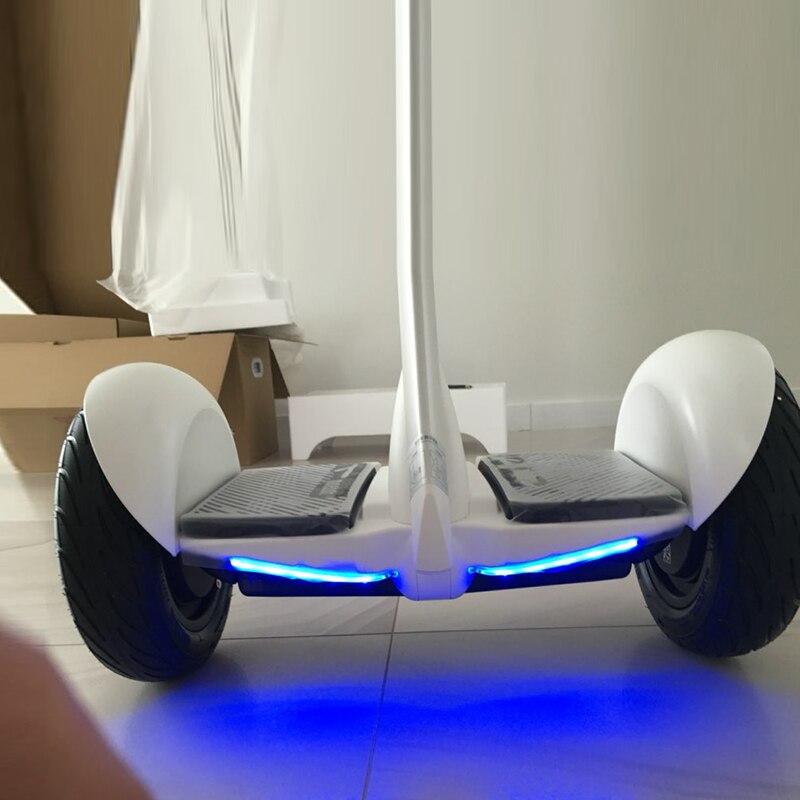 Самобалансирующийся скутер оригинальный Xiaomi Mijia мини двухколесный умный электрический скутер 10 дюймов Ховерборд скейтборд для Gokart комплек... - 5