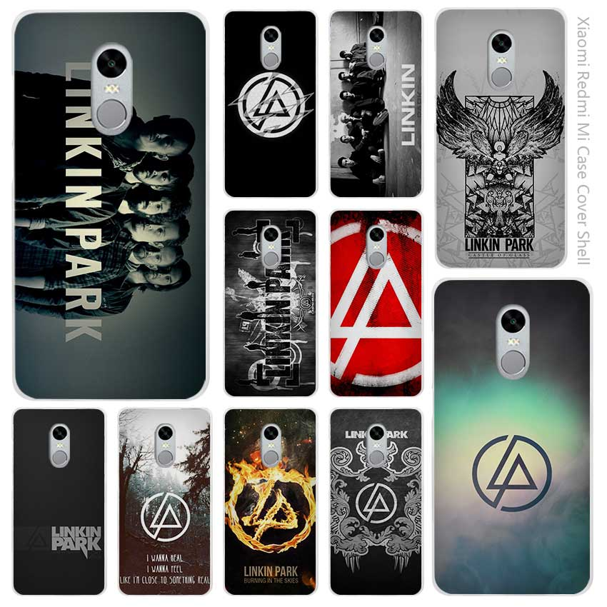 sports shoes 42fe0 38708 US $1.89 44% OFF Hot Sale linkin park Clear Cover Case Coque for Xiaomi  Redmi Mi Note 3 3s 4 4A 4X 5 5S 5C 6 Pro-in Half-wrapped Case from  Cellphones ...