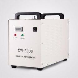 Pirolizy przemysłowy agregat chłodniczy CW-3000 110V CW3000 220V chłodnica wodna dla maszyna do grawerowania 60W 80W CO2 rura laserowa
