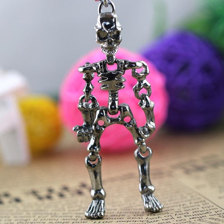 կմախքի ստեղնաշարի ստեղնաշարի - Նորաձև զարդեր - Լուսանկար 2
