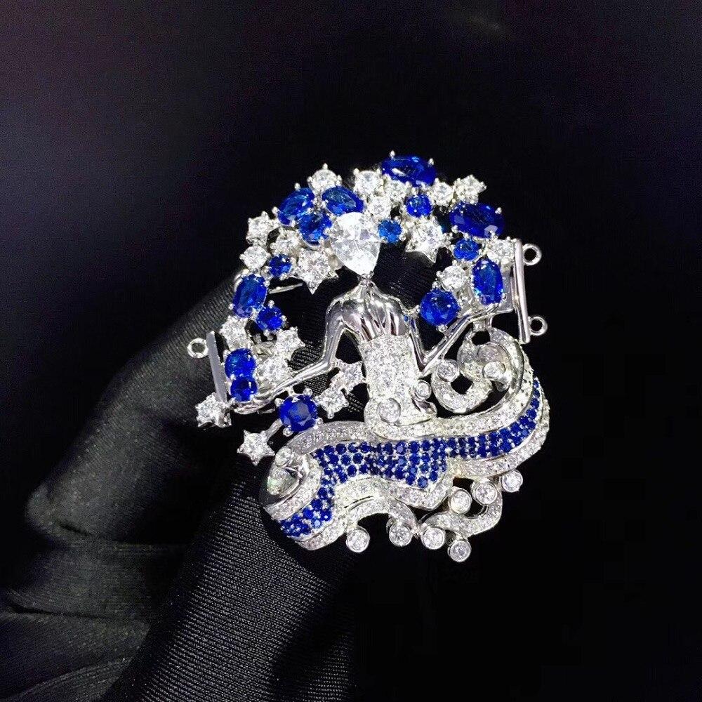Résultats et composants de bijoux 12 constellations virgo fermoir double couches bijoux à bricoler soi-même pour collier broche double usage mode
