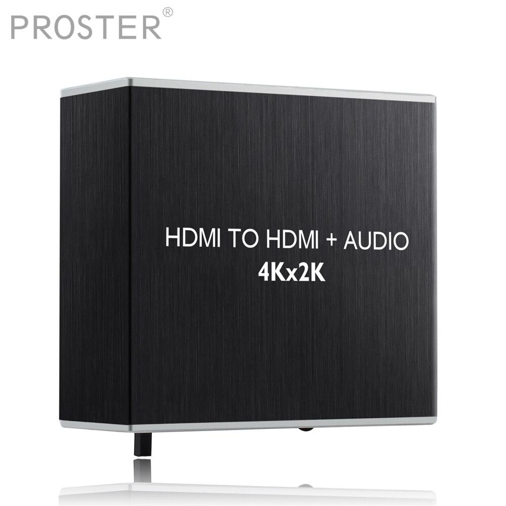 Prozor Hdmi Audio Extractor Decoder Hdmi Extractor Optische Toslink Spdif Mit 3,5mm Stereo Audio Decoder 4 K X 2 K 3d Unterhaltungselektronik