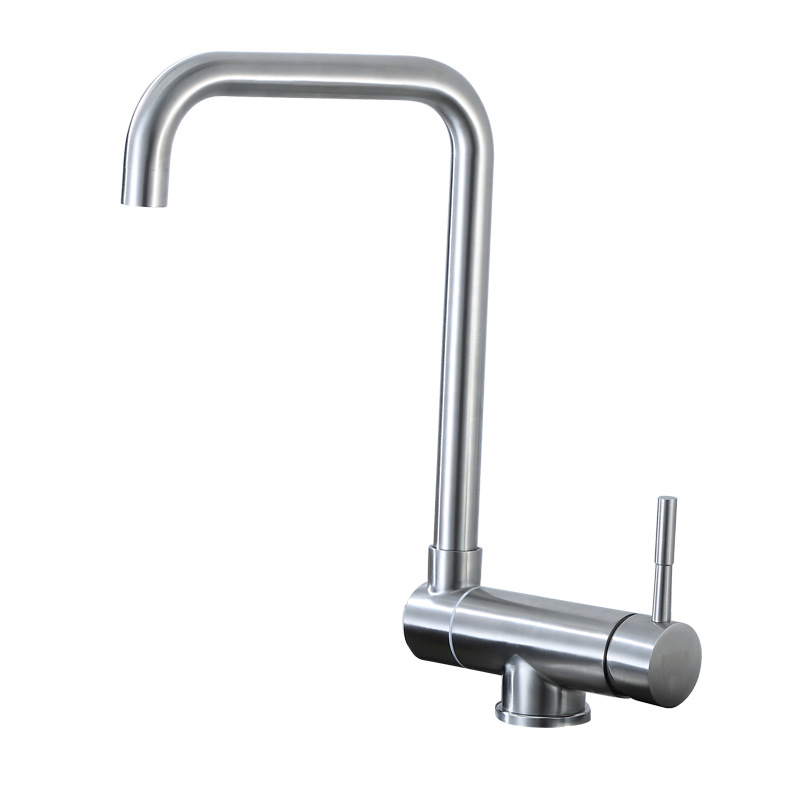 Kitchen Faucet Sink Stainless Steel 304 Single Handle Rotate Faucets 720 Degree Hot Cold Water Tap Faucet torneira para cozinha