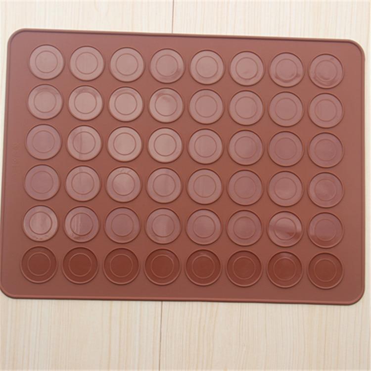 38*28 cm 48 hoyos macarons silicona esteras y postre decoración ...
